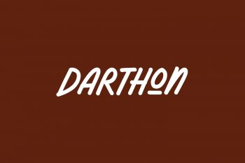 Darthon Free Font