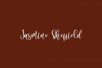 Jasmine Sheffield Free Font