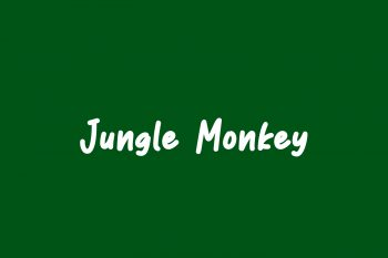 Jungle Monkey Free Font