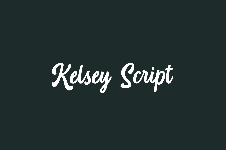 Kelsey Script Free Font