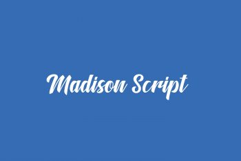 Madison Script Free Font