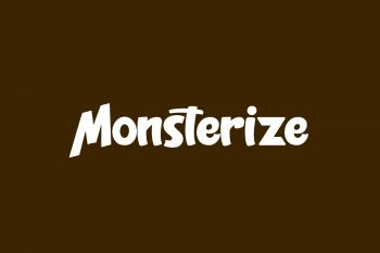 Monsterize Free Font