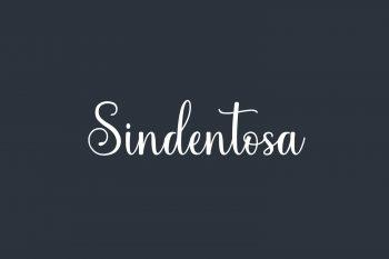 Sindentosa Free Font