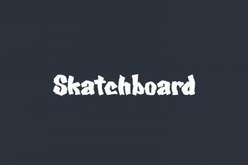 Skatchboard Free Font