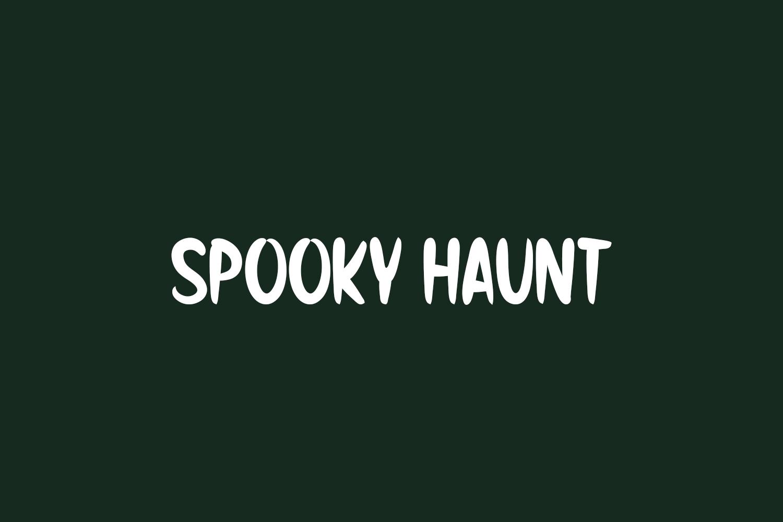 Spooky Haunt Free Font