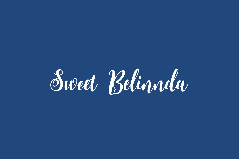 Sweet Belinnda Free Font