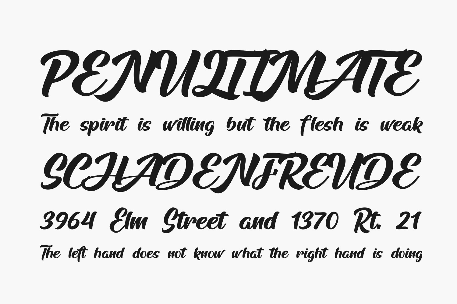 Arfelick Feather Free Font