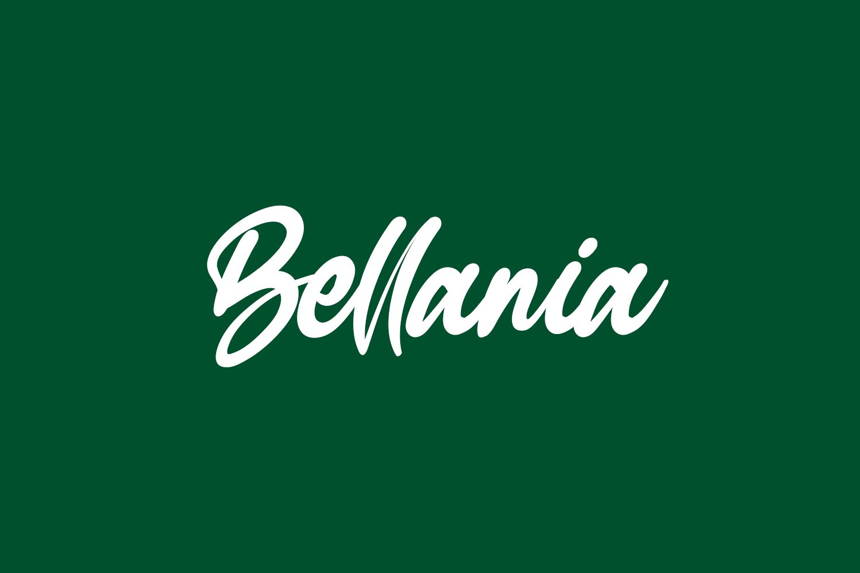 Bellania Free Font