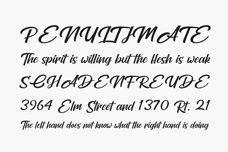 Brightons Free Font