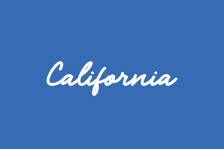 California Free Font