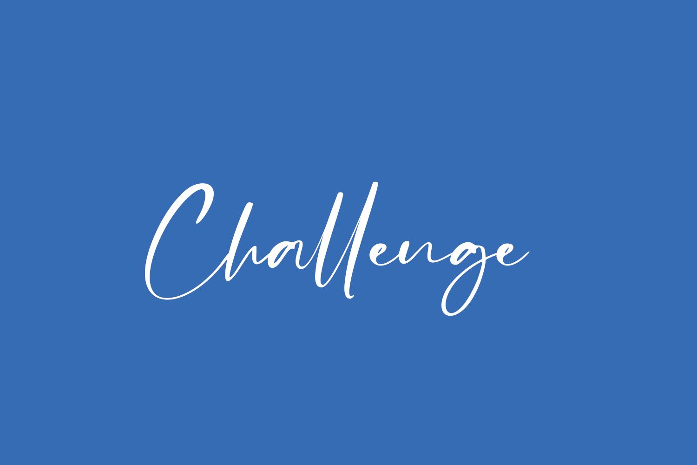 Challenge Free Font
