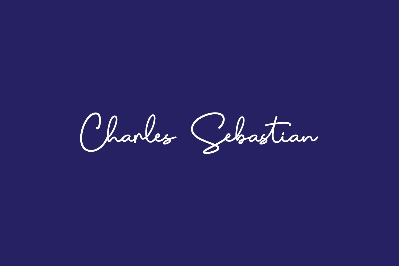 Charles Sebastian Free Font