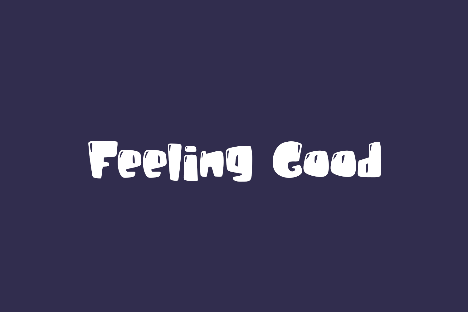 Feeling Good Free Font
