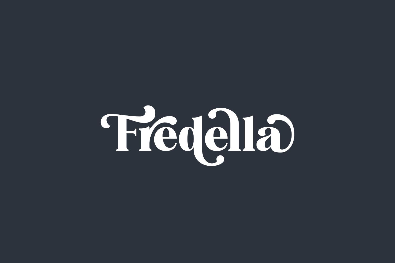 Fredella Free Font