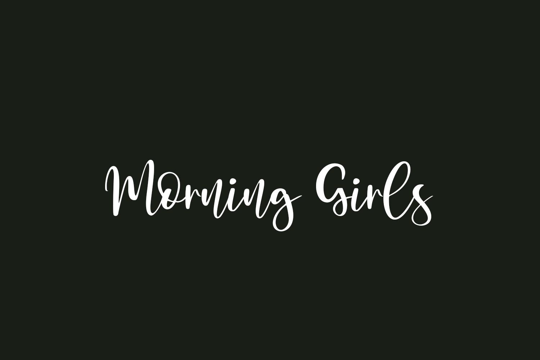 Morning Girls Free Font