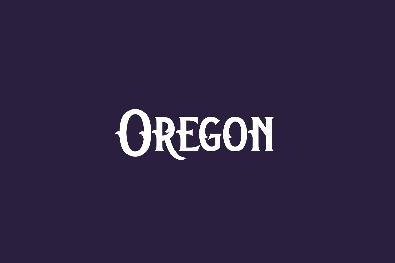 Oregon Free Font