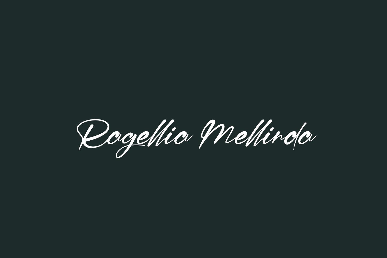 Ragellia Mellinda Free Font