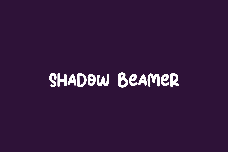 Shadow Beamer Free Font