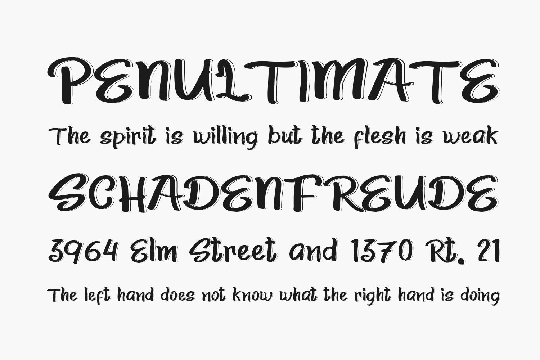 Slim Summer Free Font