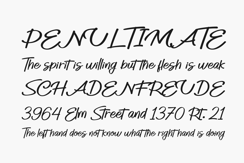 Smille Free Font
