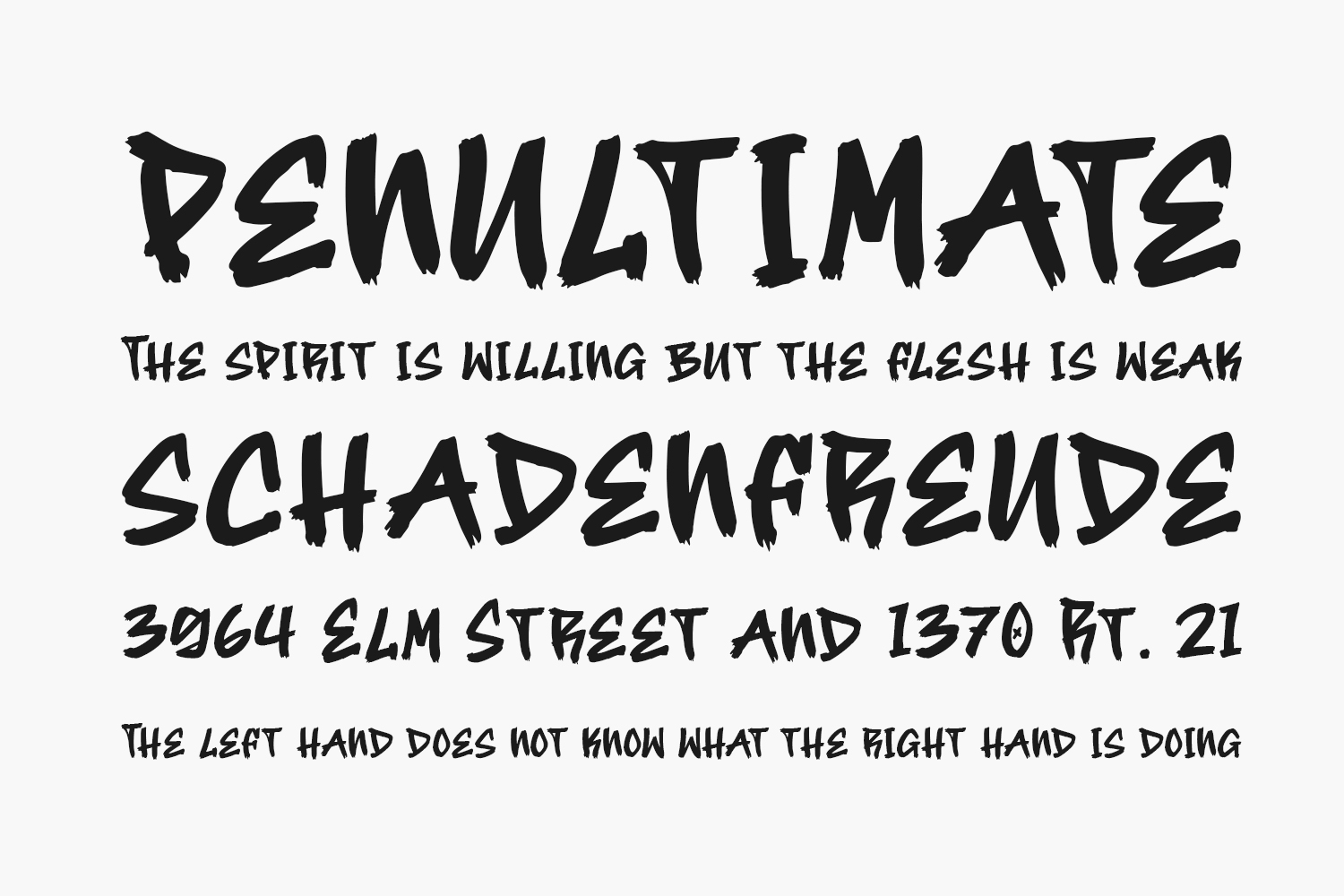 Street Hipster Free Font