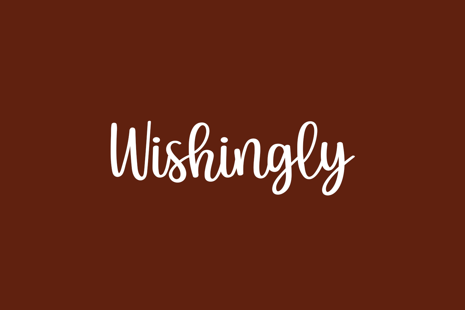 Wishingly Free Font