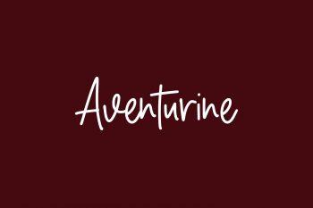 Aventurine Free Font