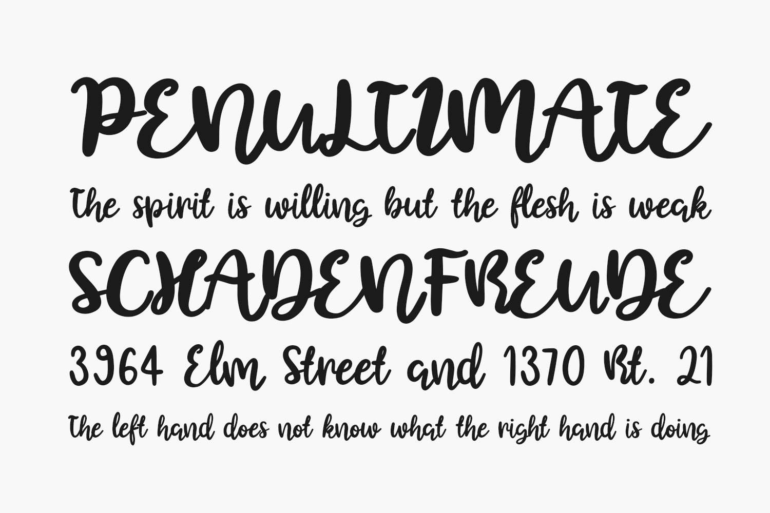 Before Christmas Free Font