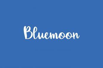 Bluemoon Free Font