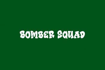 Bomber Squad Free Font