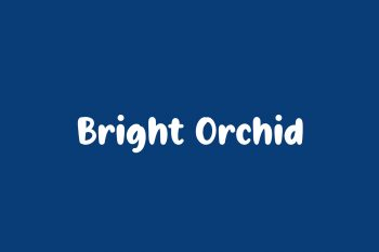 Bright Orchid Free Font