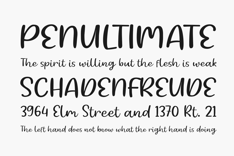 Burswood Free Font