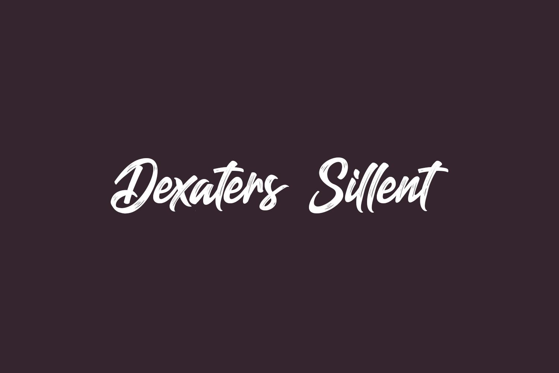 Dexaters Sillent Free Font