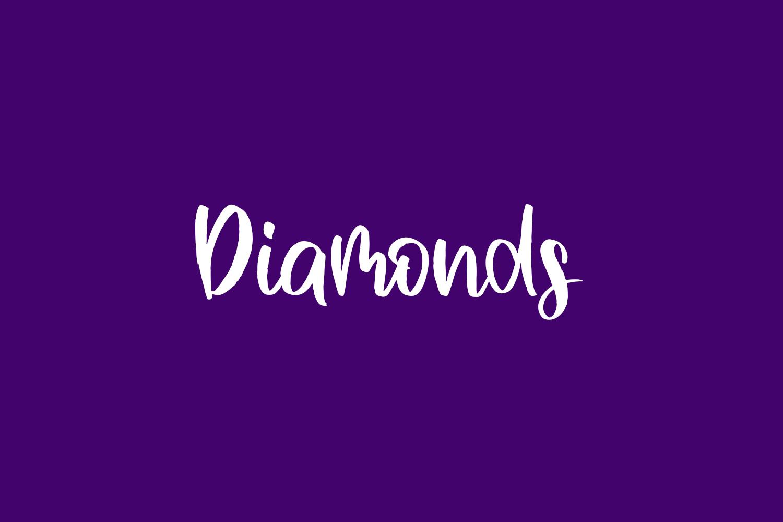 Diamonds Free Font
