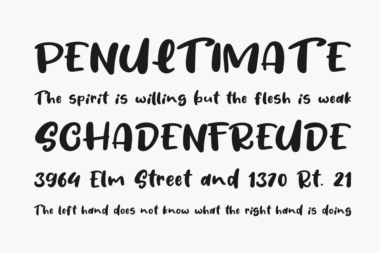 Fresh Lychee Free Font