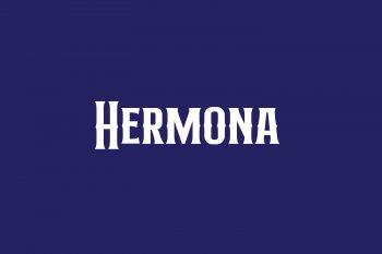 Hermona Free Font