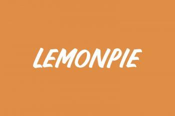 Lemonpie Free Font