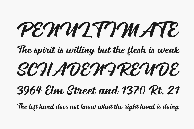 Mailston Free Font
