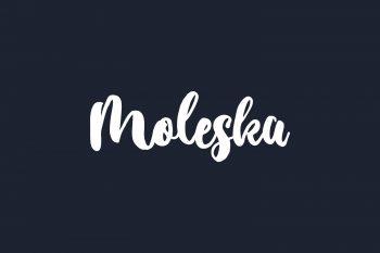 Moleska Free Font