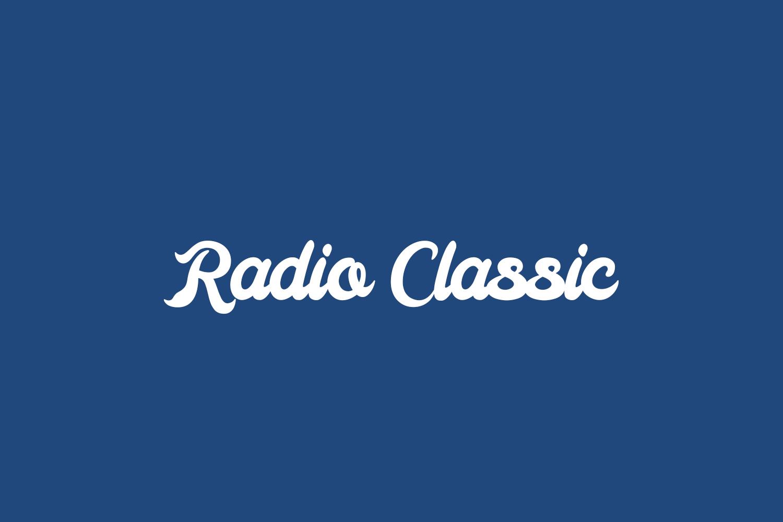 Radio Classic Free Font