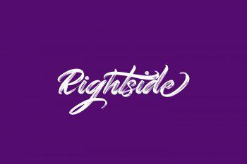 Rightside Free Font