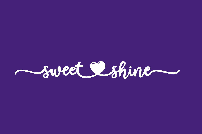 Sweet Shine Free Font