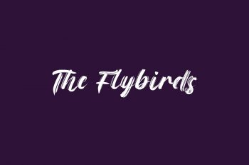 The Flybirds Free Font