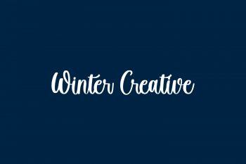 Winter Creative Free Font