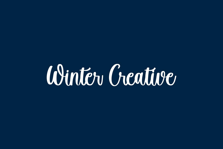 Winter Creative Free Font