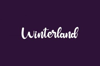 Winterland Free Font