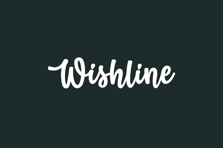 Wishline Free Font