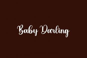 Baby Darling Free Font
