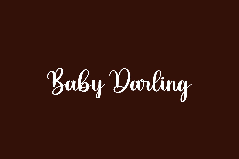 Baby Darling Free Font