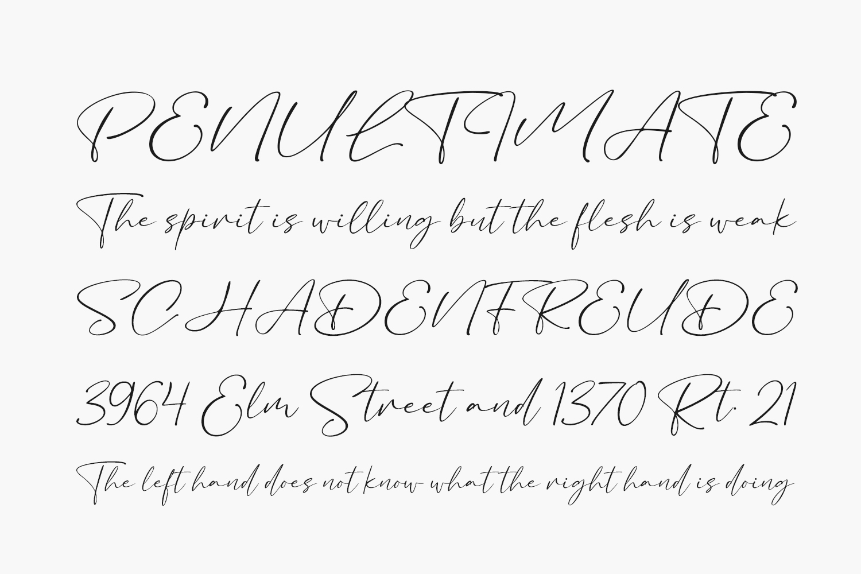 Bacalisties Free Font